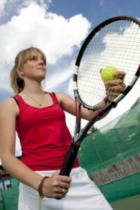 tennis extérieure
